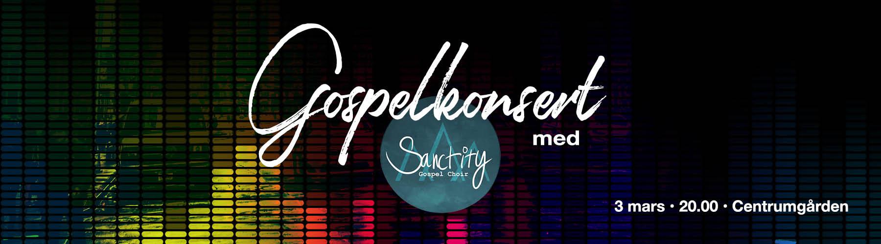 Gospelkonsert, Forserum, Centrumgården, Musik, Underhållning, Gemenskap, Gospel