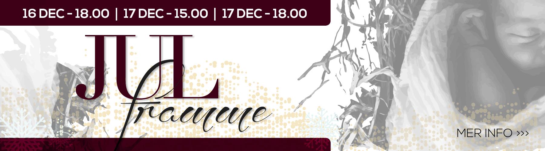 Jul framme, konsert, jul, forserum, centrumkyrkan, centrumförsamlingen, julstämning